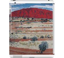 Uluru Red Australia Ayer's Rock Olga Kirsten Designs iPad Case/Skin