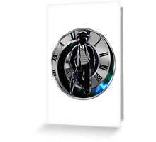 Doctor Who - 7th Doctor - Sylvester McCoy Greeting Card