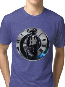 Doctor Who - 7th Doctor - Sylvester McCoy Tri-blend T-Shirt