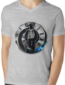 Doctor Who - 7th Doctor - Sylvester McCoy Mens V-Neck T-Shirt