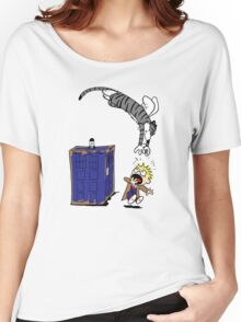 Calvin And Hobbes. Women's Relaxed Fit T-Shirt