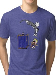 Calvin And Hobbes. Tri-blend T-Shirt