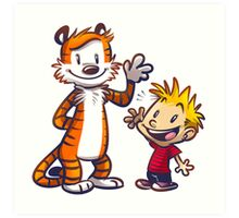 Calvin And Hobbes Fun Art Print