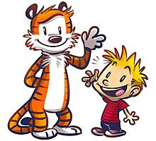 Calvin And Hobbes Fun Photographic Print