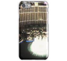 Fountains at The Bellagio, Las Vegas iPhone Case/Skin