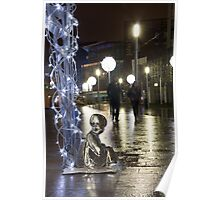 #PleaseLookAfterMe Ice Sculptures - Liverpool Poster