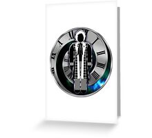 Doctor Who - 6th Doctor - Colin Baker Greeting Card