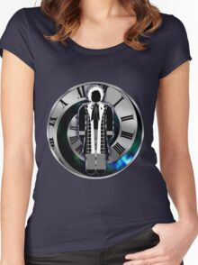 Doctor Who - 6th Doctor - Colin Baker Women's Fitted Scoop T-Shirt