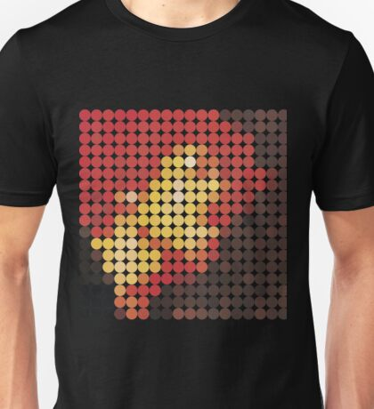 Jimi Hendrix, Electric Ladyland, Benday Dots Unisex T-Shirt