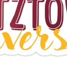 Kutztown University Sticker