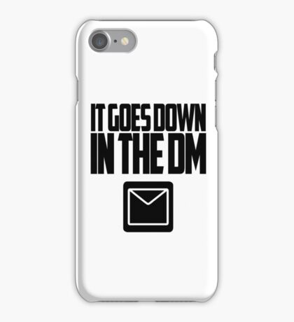YO GOTTI - DOWN IN THE DM iPhone Case/Skin