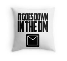 YO GOTTI - DOWN IN THE DM Throw Pillow