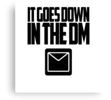 YO GOTTI - DOWN IN THE DM Canvas Print