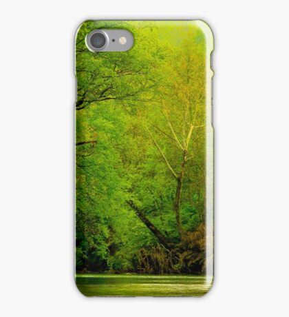 Springtime Down On The River iPhone Case/Skin