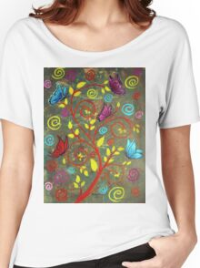 Butterflies-5 Women's Relaxed Fit T-Shirt