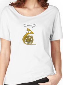 French Horn Women's Relaxed Fit T-Shirt