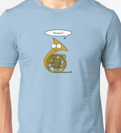 French Horn Unisex T-Shirt