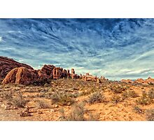 Raw Beauty Of Arches Photographic Print