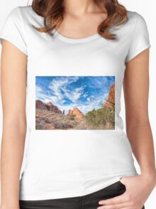 Delightful Arches Women's Fitted Scoop T-Shirt