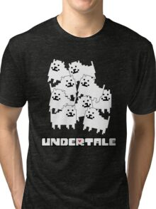 Dogs - Undertale Tri-blend T-Shirt