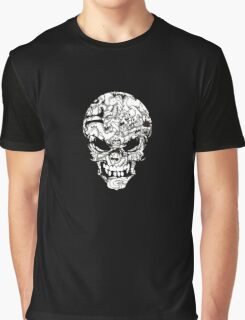 Doodle Skull Graphic T-Shirt