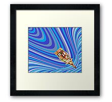 sushi boat Framed Print