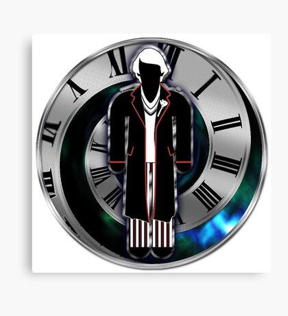 Doctor Who - 5th Doctor - Peter Davison Canvas Print