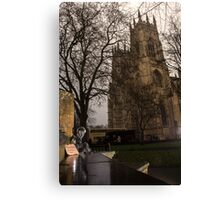 #PleaseLookAfterMe Ice Sculptures - York Canvas Print