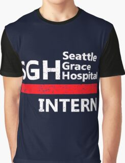 Grey's anatomy - SGH Intern Graphic T-Shirt
