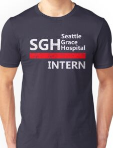 Grey's anatomy - SGH Intern Unisex T-Shirt