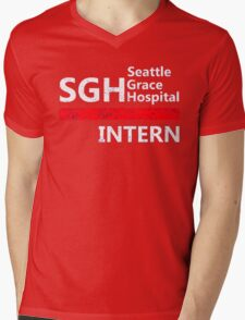 Grey's anatomy - SGH Intern Mens V-Neck T-Shirt