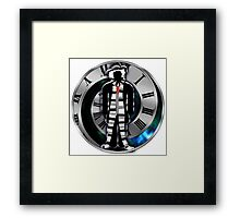 Doctor Who - 4th Doctor - Tom Baker Framed Print
