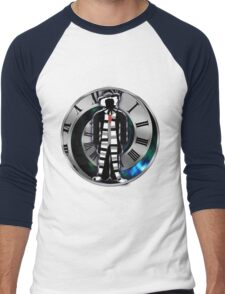 Doctor Who - 4th Doctor - Tom Baker Men's Baseball ¾ T-Shirt