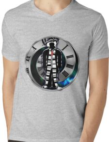 Doctor Who - 4th Doctor - Tom Baker Mens V-Neck T-Shirt