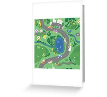 Country Roads Greeting Card