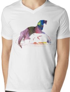 Otter  Mens V-Neck T-Shirt