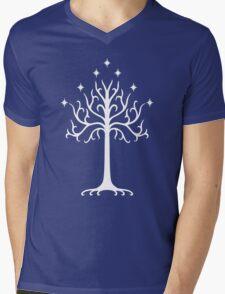 Tree of Gondor Mens V-Neck T-Shirt