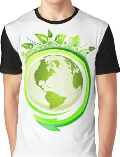 Earth Nature Ecology Graphic T-Shirt