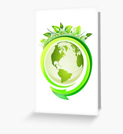 Earth Nature Ecology Greeting Card