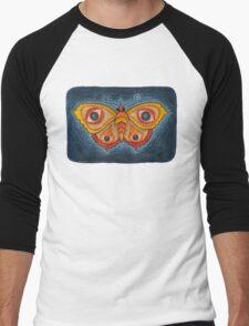 Big Eye Butterfly Men's Baseball ¾ T-Shirt