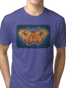 Big Eye Butterfly Tri-blend T-Shirt