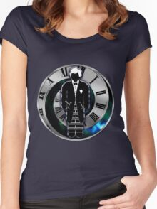 Doctor Who - 2nd Doctor - Patrick Troughton Women's Fitted Scoop T-Shirt