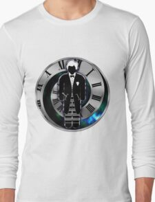 Doctor Who - 2nd Doctor - Patrick Troughton Long Sleeve T-Shirt