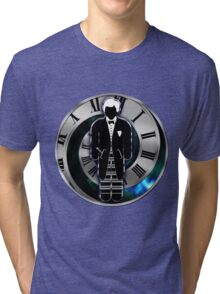 Doctor Who - 2nd Doctor - Patrick Troughton Tri-blend T-Shirt