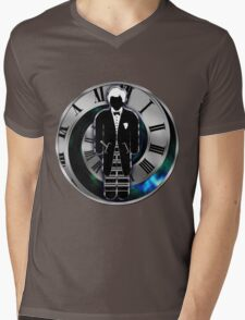 Doctor Who - 2nd Doctor - Patrick Troughton Mens V-Neck T-Shirt