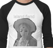 ISLAND FIEND - anne logo 2 Men's Baseball ¾ T-Shirt