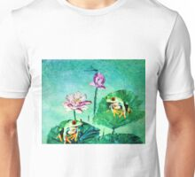 FROG AND DRAGONFLY Unisex T-Shirt