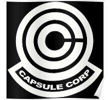 Capsule Corp Logos Poster