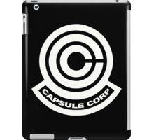 Capsule Corp Logos iPad Case/Skin