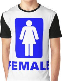 Female Sign Graphic T-Shirt